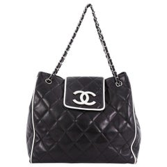 Chanel Divine Tote Quilted Lambskin Medium