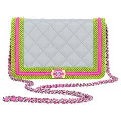 New in Box Chanel Fluo Boy Bag Crossbody