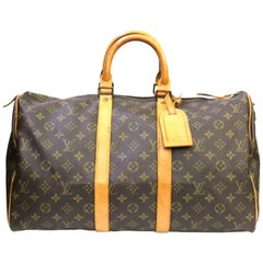 80s Louis Vuitton Monogram Keepall