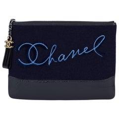 Neu in Box-Chanel-Marine Paris-Salzburg-Clutch-Tasche