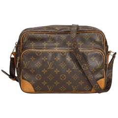 Louis Vuitton Brown Monogram Nile