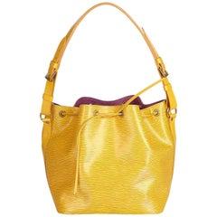 Louis Vuitton Yellow Epi Petit Noe