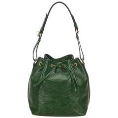 Louis Vuitton Green Epi Petit Noe