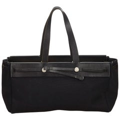 Hermes Black Herbag Cabas MM