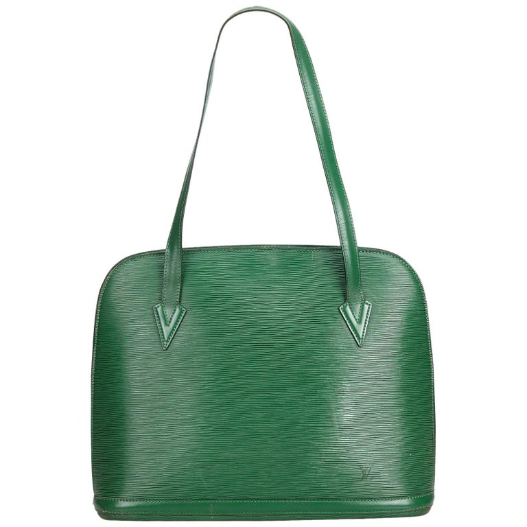 b212a2cfd785 Louis Vuitton Green Epi Lussac For Sale at 1stdibs