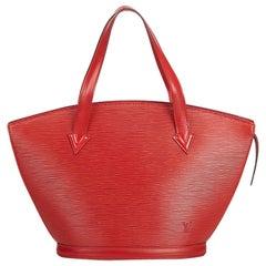 Louis Vuitton Red Epi Saint Jacques Short Strap