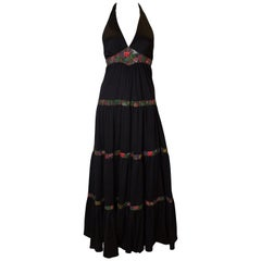 Vintage Radley Halter Neck Gown