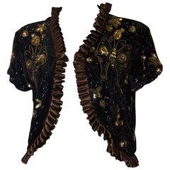 Vintage Evening Bolero Jacket