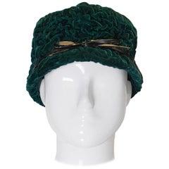 Vintage Jaccol Velvet Hat