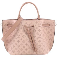 Louis Vuitton Girolata Handbag Mahina Leather