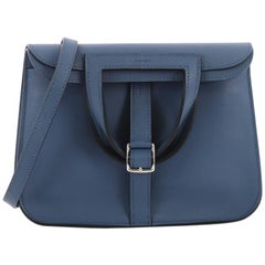 Hermes Halzan Handbag Swift 22