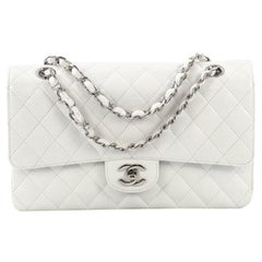 4f51346f20f1 Chanel Vintage Classic Double Flap Bag Quilted Caviar Medium