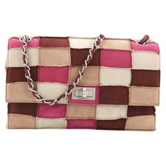 52737b99ef3c Chanel Reissue Flap Bag Suede Patchwork Medium
