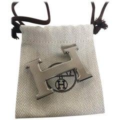"""Hermès Buckle for Belt // """"Calandre model"""""""