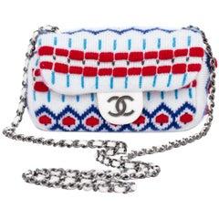 Chanel New Mini White Aspen Crossbody Bag