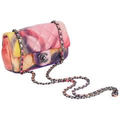 New Chanel Multicolor Mini Leather Crossbody Bag