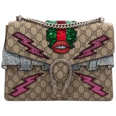 Gucci GG Dionysus Supreme Embroidered Monogram Shoulder Bag