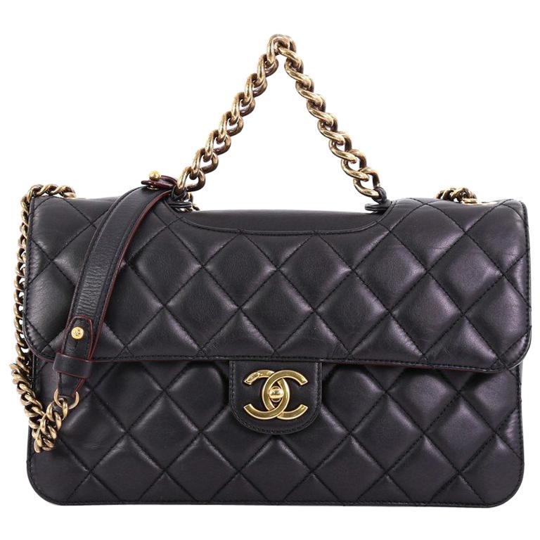 99bc67b4b3ac Chanel Perfect Edge Flap Bag Quilted Calfskin Jumbo at 1stdibs