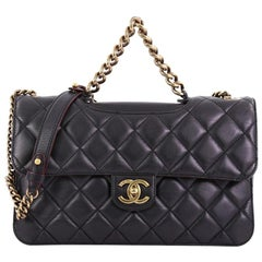 bd4ecc9dff6563 Chanel Perfect Edge Flap Bag Quilted Calfskin Jumbo