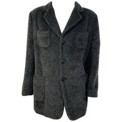 Men's Dolce & Gabbana Alpaca Coat
