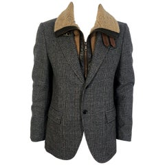 Mens Dolce & Gabbana Herrington Coat