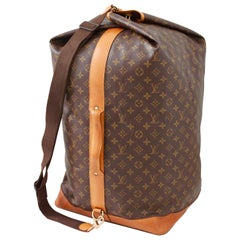 Louis Vuitton Sac Marin Sailor Bandouliere GM Travel Luggage Monogram Canvas