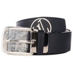 "Louis Vuitton belt ""Saint-Germain"" for men in black leather , new never worn !"