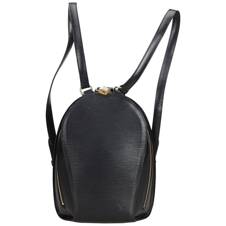Louis Vuitton Black Epi Mabillon For Sale