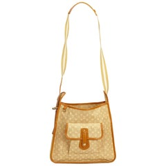 Louis Vuitton Brown Monogram Mini Lin Mary Kate