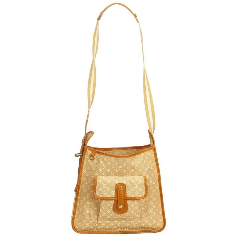 Louis Vuitton Brown Monogram Mini Lin Mary Kate For Sale
