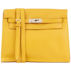 2009 Hermes Jaune d'or Swift Leather Kelly Danse