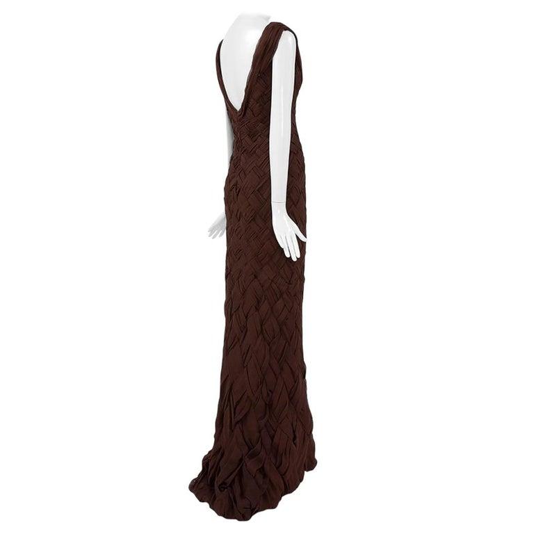 cc3adca49f3ce Abraham Pelham Haute Couture Kleid und Stola im Angebot bei 1stdibs
