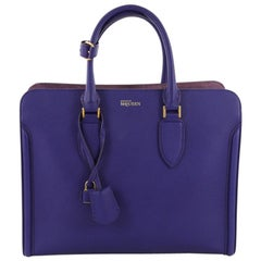 Alexander McQueen Heroine Open Tote Leather
