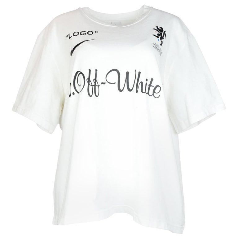 69d3272f3 Nike x Off-White Men's Logo Mercurial NRG Z T-Shirt Sz L For Sale at ...