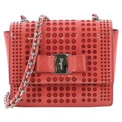 1f67c40036eb Salvatore Ferragamo Ginny Crossbody Bag Saffiano Leather Medium at ...