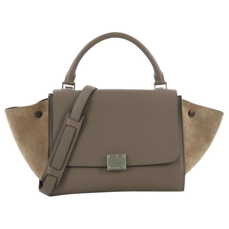 b005d60de0 Celine Trapeze Handbag Leather Small at 1stdibs