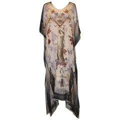 Klements Silk Chiffon British Museum Collection Caftan