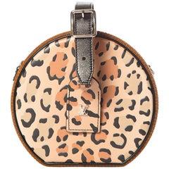 Louis Vuitton Limited Edition Petite Boite Chapeau Monogram & Leopard Print Bag