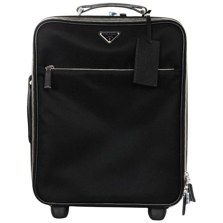 5ce05629e Prada Black Nylon/Saffiano Leather 40cm/16