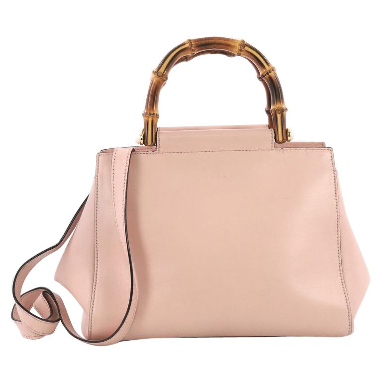 0d23bcf283bd76 Gucci Nymphaea Tote Leather Small For Sale at 1stdibs