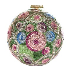 JUDITH LEIBER  Multi Color Faberge Egg Evening Bag Sale