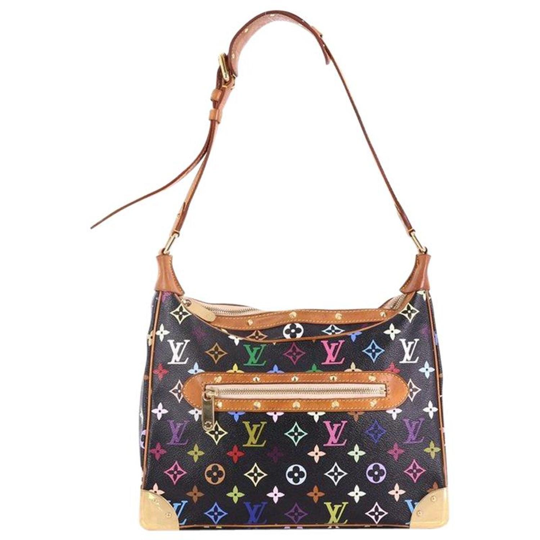 5b8121f95376 Louis Vuitton Boulogne Handbag Monogram Multicolor at 1stdibs