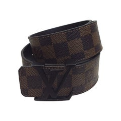Louis Vuitton Ebene Initiales Belt