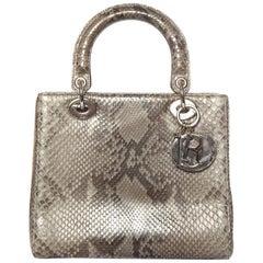 CHRISTIAN DIOR  Python Lady Dior Bag