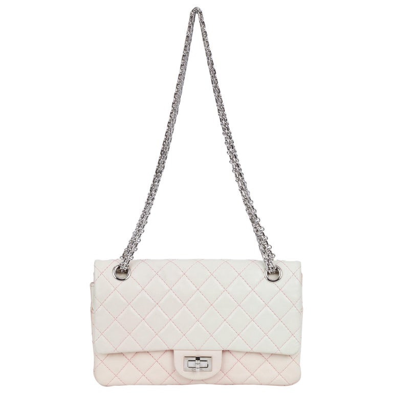 fc2036f7282abd Chanel Rare Degrade' Pink Reissue Flap Bag For Sale at 1stdibs