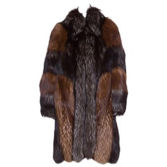CHRISTIAN DIOR  Red Russian Fox Fur Coat