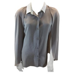 Carven Beige Blouse NWT