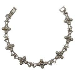 Vintage Signed WRE Sterling Silver Bracelet