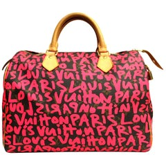 2009 Louis Vuitton Graffiti Stephen Sprouse Speedy 30 Bag