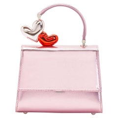 Ming Ray Je T'aime Pink Clutch / Shoulder Bag